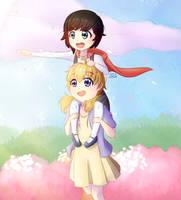 Young Yang and Ruby by senapon