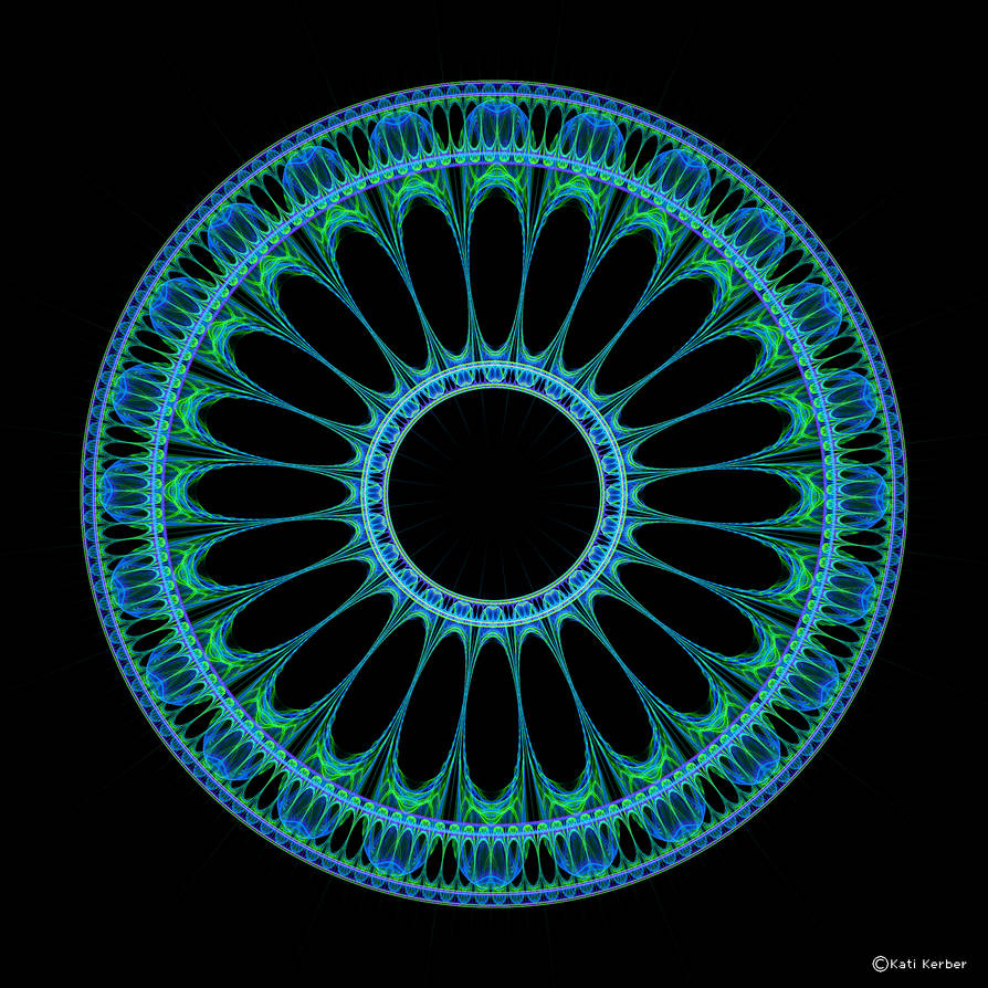Circle Pattern 5 by Bulldoggenliebchen