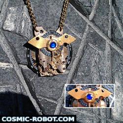 Steampunk Batman pendant by Henri-1