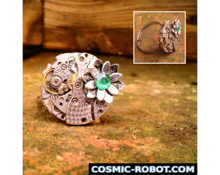 Steampunk Ring by Henri-1