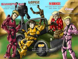 Luke McKay's Red Team by dragonsong12