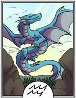 Zodiac Dragons - Aquarius by dragonsong12