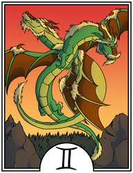 Zodiac Dragons - Gemini by dragonsong12