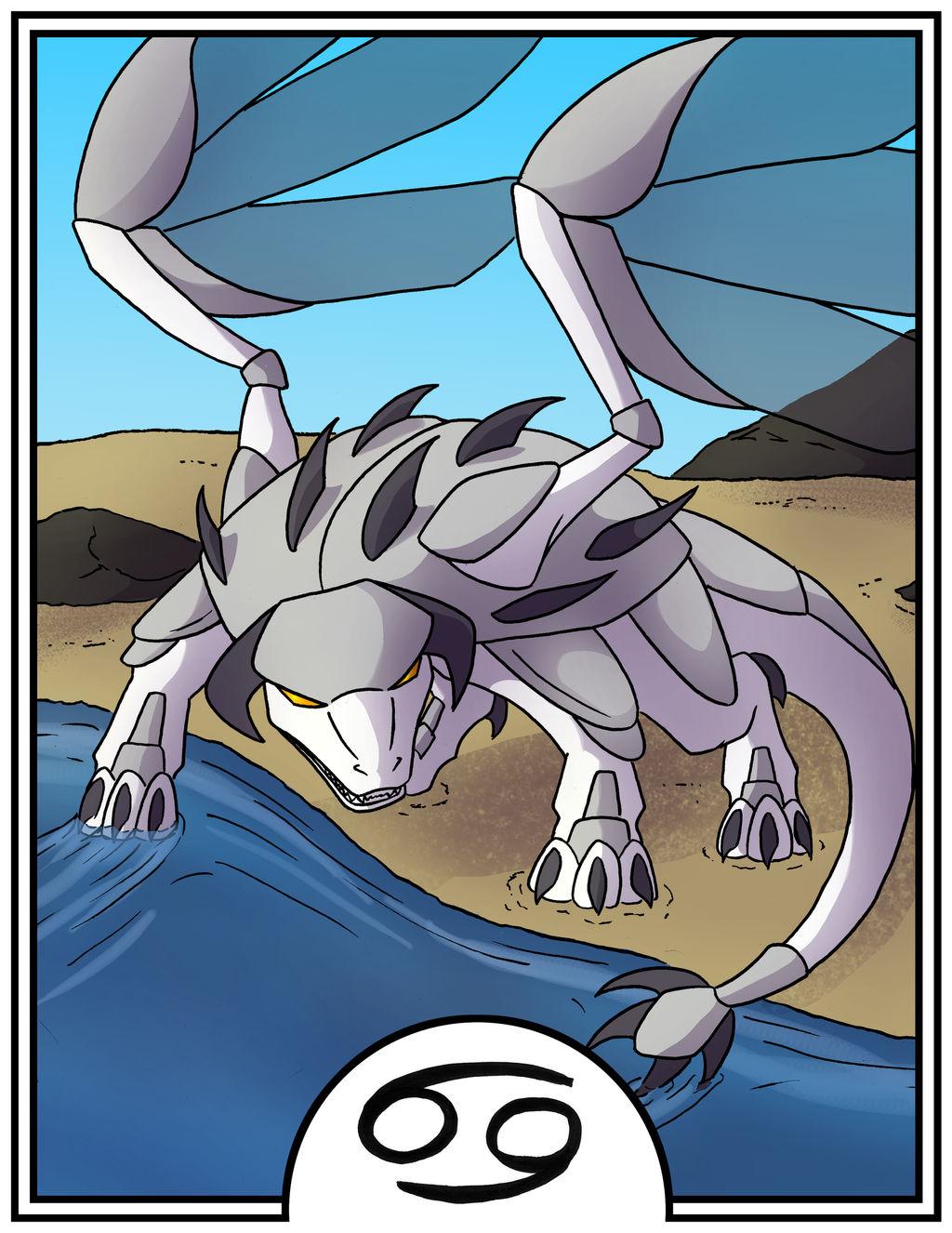 Zodiac Dragons - Cancer by dragonsong12