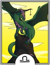 Zodiac Dragons - Libra by dragonsong12