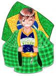 A Terra natal Brasil e eu by hiru-miyamoto