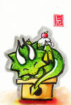 Sumi-e - Drago 014 by hiru-miyamoto