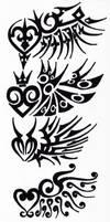 Tribal 003 - Wings by hiru-miyamoto