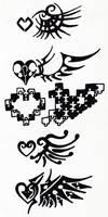 Tribal 004 - Wings by hiru-miyamoto