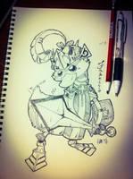 Sketch - Fabricio by hiru-miyamoto