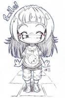 Sketch - Smile by hiru-miyamoto