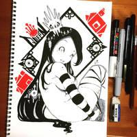 Inktober 10 by hiru-miyamoto