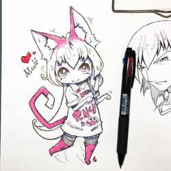 Meow x3 by hiru-miyamoto