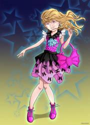 anime oc #17 by Okashy