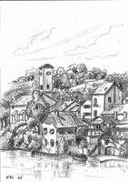 A rural French village by Markkus76