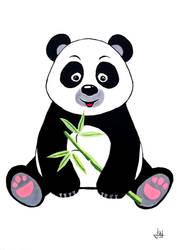 Cute Panda by Markkus76