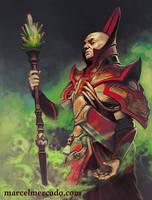 Tyranny Dragons - Rath Modar by marcel-mercado