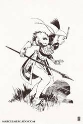 Huntress by marcel-mercado