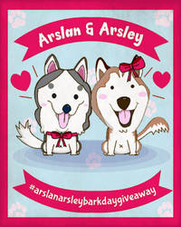 Arslan and Arsley Giveaway Poster by Vusiuz