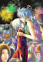 Minetta Festival - Fireworks by yami-izumi