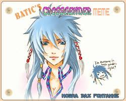 Batic Crossgender Meme - Mosha by yami-izumi