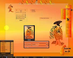 Oriental Etchings by Fairyy