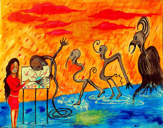 The Distraction by ramkumariyer