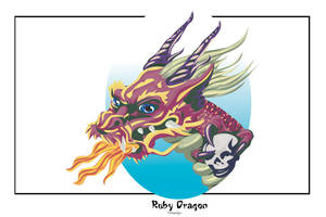 Ruby Dragon by damphyr