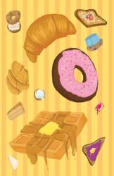 Breakfast in Breads by Rhexia