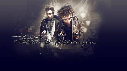 Wallpaper Robert Pattinson by Virginie067