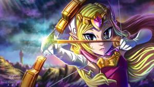 Princess Zelda: Spirit Tracks by MaskedGolem