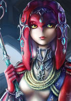 Mipha - Champion's Ballad by MaskedGolem