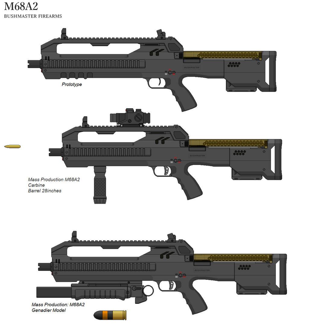 Bushmaster M68A2 by thormemeson