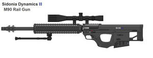 M-90 Linear Sniper Rifle by thormemeson