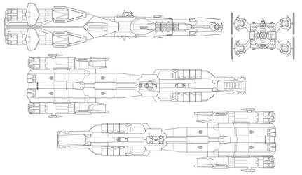 Warrior class Destroyer by thormemeson