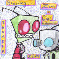 Teh Zim and Gir by InvdrDana