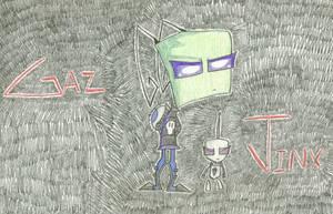 Gaz and Jinx by InvdrDana