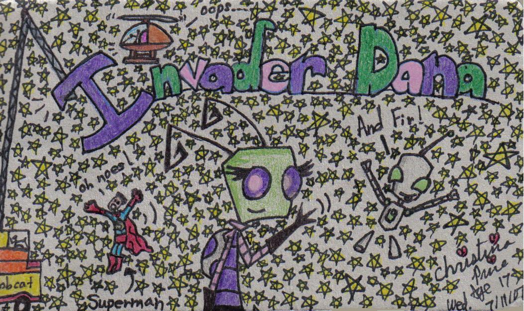 Invader Dana by InvdrDana