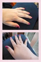 Valentines day Nails by devvieartmanIII