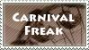 [Stamp] Carnival Freak by Shark-Fujishiro
