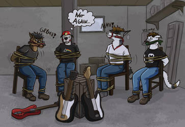 Commission: Band misshap by SteinWill