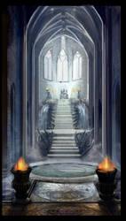 Odin's Throne by BurningBrushGallery