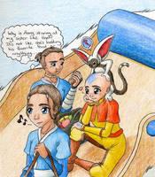 Some Avatar Fanart by Sandy87