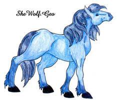 I'm Blue by SheWolfGeo