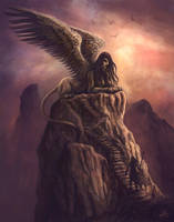 Sphinx by Jakdaw