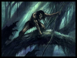Tarzan by Jakdaw
