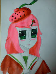 Strawberry Shortcake: Japanese Schoolgirl Style by sutoroberikurimu