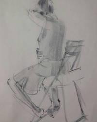gesture drawing by kleinedragon