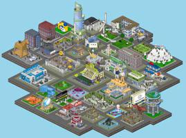 VO Pixelhouses 3 by shabuegah