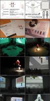 Pixelart - video performance by shabuegah